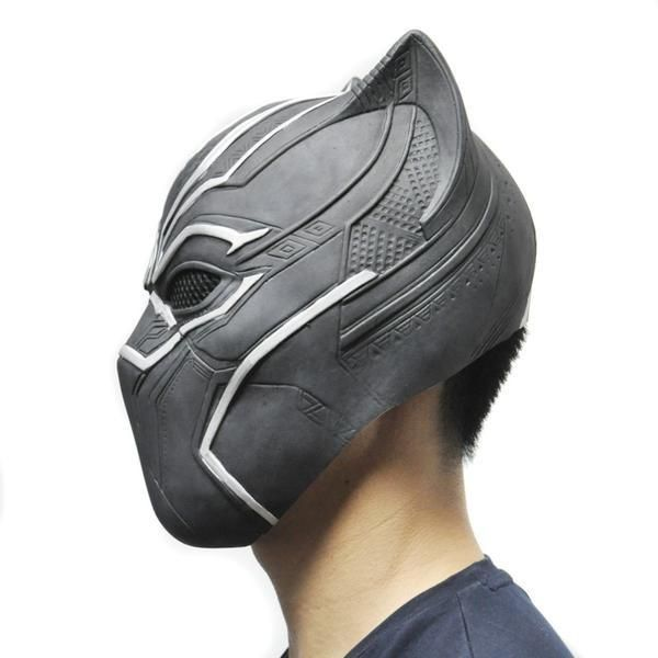 Black Panther Halloween Mask - Latex – I Sell Goods