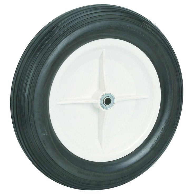 "16"" Flat-Free Wheelbarrow Tire"