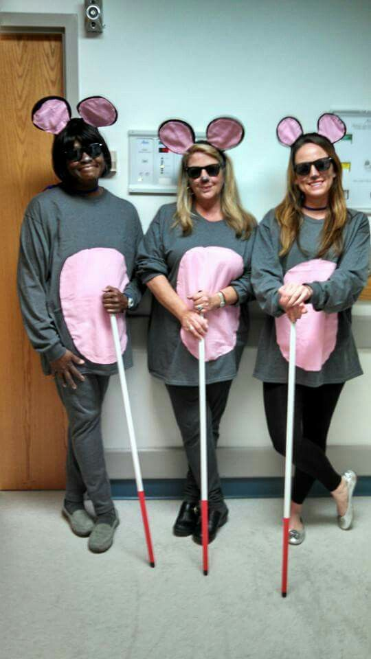 Three blind mice for Halloween at work today