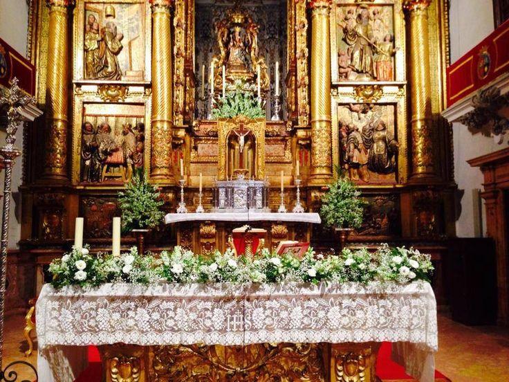 Altar iglesia de la victoria m laga decoraci n iglesias for Malaga decoracion