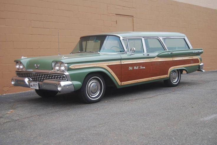 1959 ford country squire station wagon for sale hemmings motor news old cars pinterest. Black Bedroom Furniture Sets. Home Design Ideas