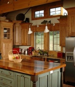 17 best images about country kitchens on pinterest house for Kitchen cabinets express