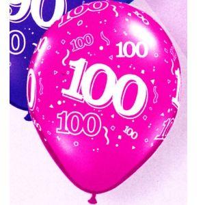 100th Latex Balloons