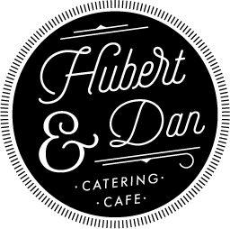 Hubert & Dan | Bespoke Catering Cafe Logo Tasmania