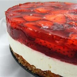 Judy's Strawberry Pretzel Salad Allrecipes.com