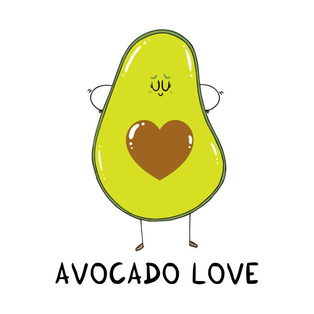 Check out this awesome 'Avocado+Love' design on @TeePublic!