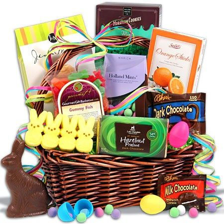 20 best easter baskets gifts images on pinterest easter baskets easter sweets treats basket gourmet candygourmet giftsfood negle Gallery