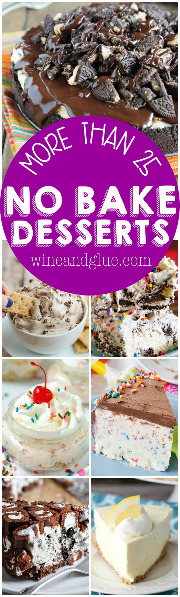 With all of these No Bake Dessert Recipes, you will be able to have sweets all summer without turning on your oven!