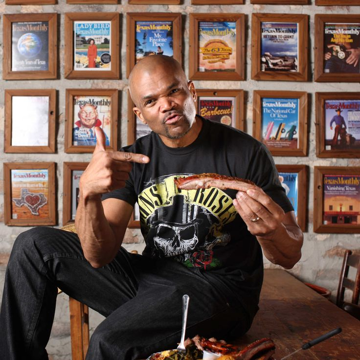 Run-D.M.C.'s Darryl McDaniels Doesn't Want to Share His Ribs. Photo by Melissa Hom
