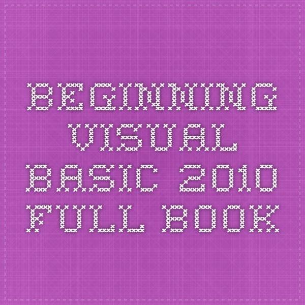 visual studio 2010 free pdf ebooks