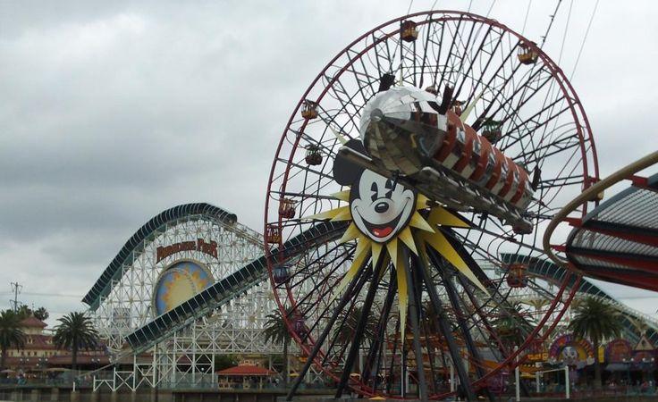 California Adventure - Paradise Pier -  the Disney resort, Anaheim