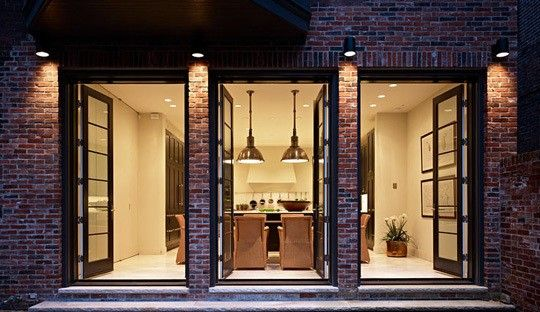 industrial french doors @ Home Ideas Worth Pinning