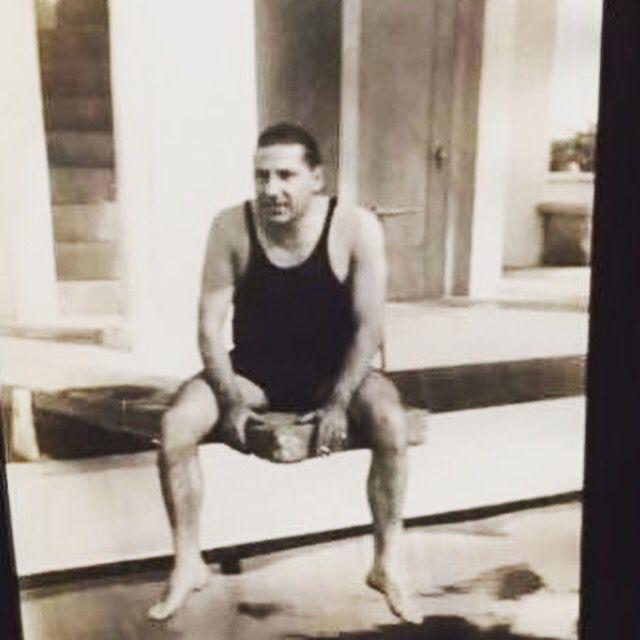 Rare photo of Frank Costello