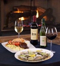 Fine Dining Hiawassee GA Cafe Portofino- Happy Hour Specials 4pm-6pm.