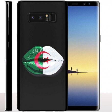 #algeria #flag Découvrez la #coque Kiss Lips Algérie pour le Samsung Galaxy Note 8 !