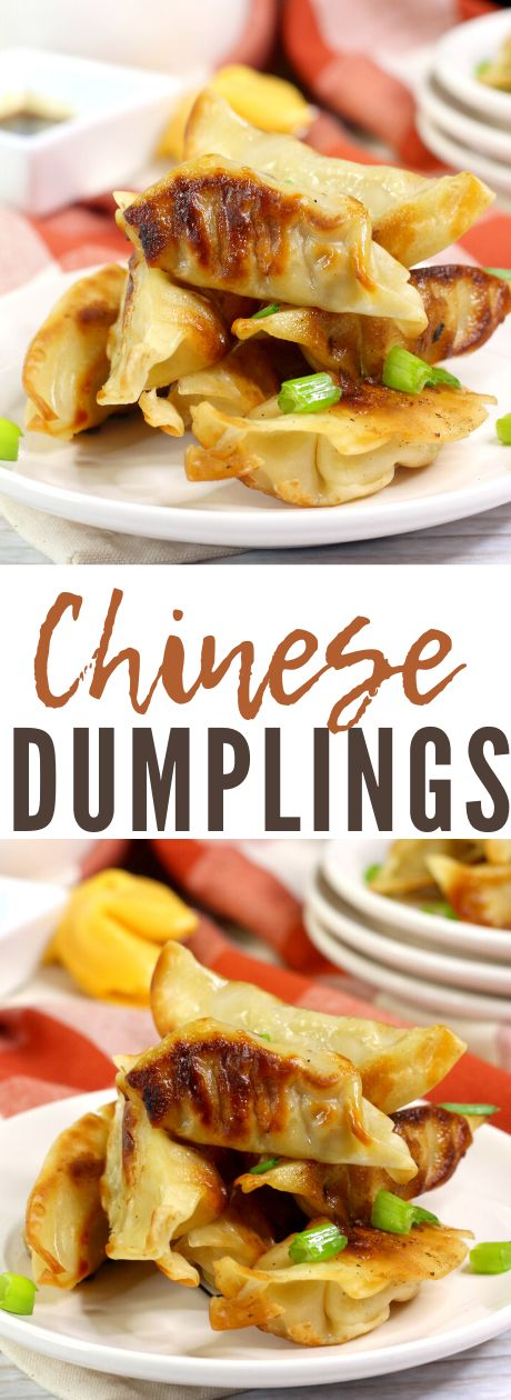 chinese dumplings  mama's on a budget  recipe in 2020