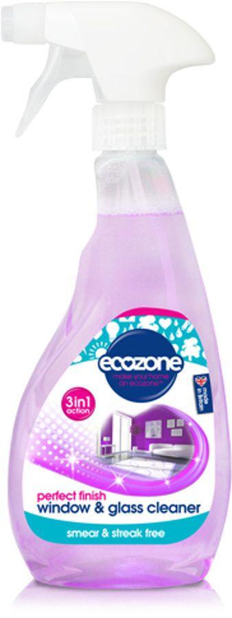 Ecozone Streak Free Window & Glass Cleaner - 500ml - Ethical Superstore