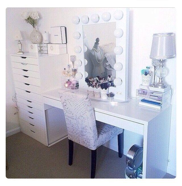 Emmaceski♡ Beauty Room ♡ Pinterest Vanities Beauty