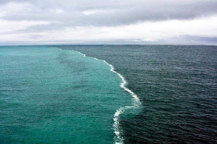 Место, где встречаются Северное и Балтийское море.
