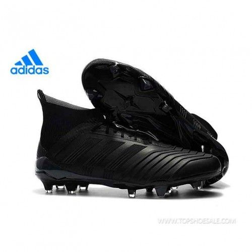 low priced 6502b 7c0e3 Regular product Adidas PREDATOR 18.1 FG BB6354 Core Black Soccer Shoes