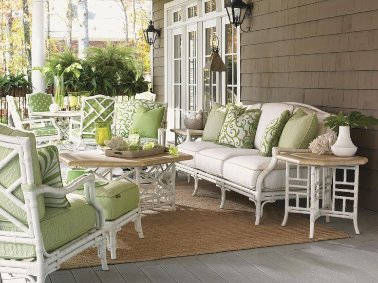 11 Glorious Wicker Furniture Sunroom, Bamboo Outdoor Furniture Set