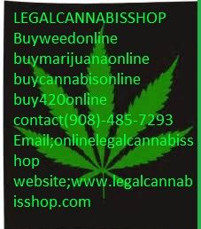 Buy medical marijuana | Weed for sale | THC and CBD oil for sale | Cannabis oils | Edibles for sale | Hemp Oil | Wax | Shrooms for sale . top grade strains ( Hybrid, Indica and Sativa). Text/call +1 (908)485-7293 Email; (info@legalcannabisshop.com) website: legalcannabisshop.com