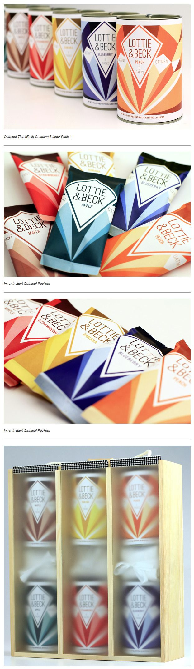 News programs and projects of jagisa paper bags - Lottie Beck Oatmeal Packaging