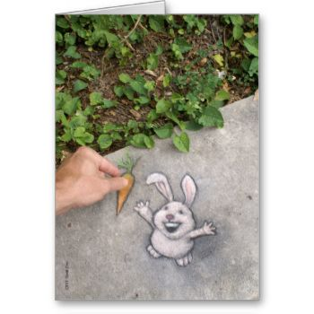 Chalk drawing by David Zinn, Summer 2011.