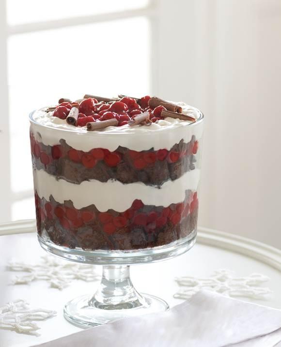 Black Forest Trifle INGREDIENTS 1 pkg (18-21 oz) brownie mix (plus ingredients