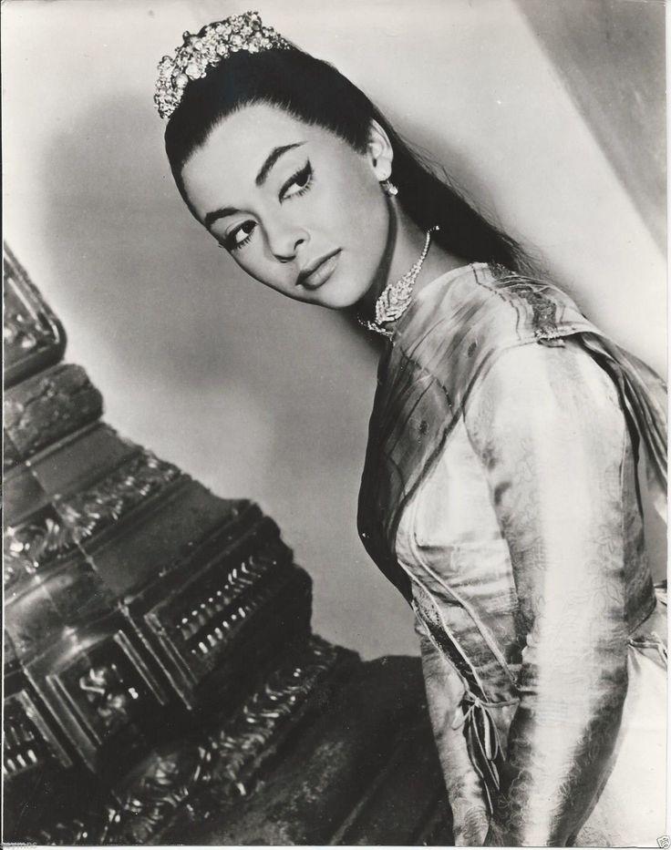 Rita Moreno 10x8 B W Photo King AND I Film Company Stamped | eBay