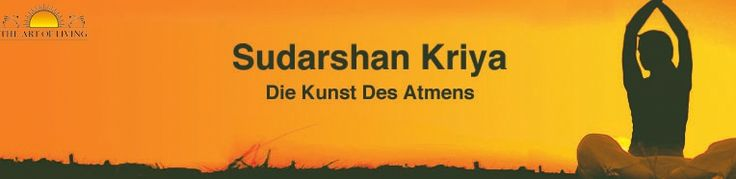 Die Sudarshan Kriya ist die wichtigste Atemtechnik, die in den Kursen von Art of Living Deutschland/Die Kunst des Lebens D.e.V gelehrt wird:Art of Living Happiness Programmen.  Die Sudarshan Kriya wurde 1982 von Sri Sri Ravi Shankar entwickelt und hat schon unzähligen Kursteilnehmern zu tiefster Entspannung verholfen.  Mehr unter: http://sudarshankriya.de/ und  www.aolresearch.org