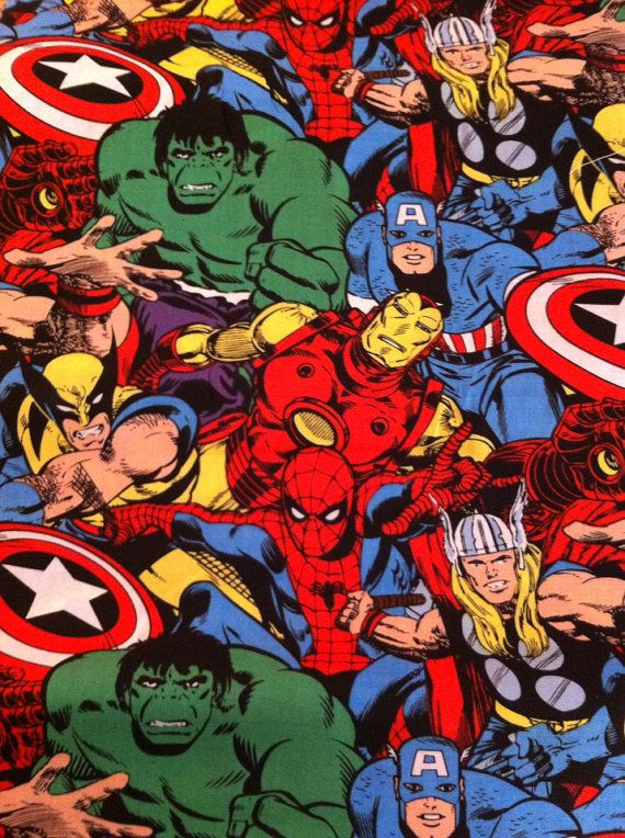 Best Marvel Avengers Crib Toddler Bed Sheet And Matching 400 x 300