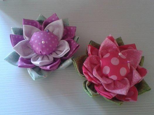 Puntaspilli fiorito da Filomania Clusone