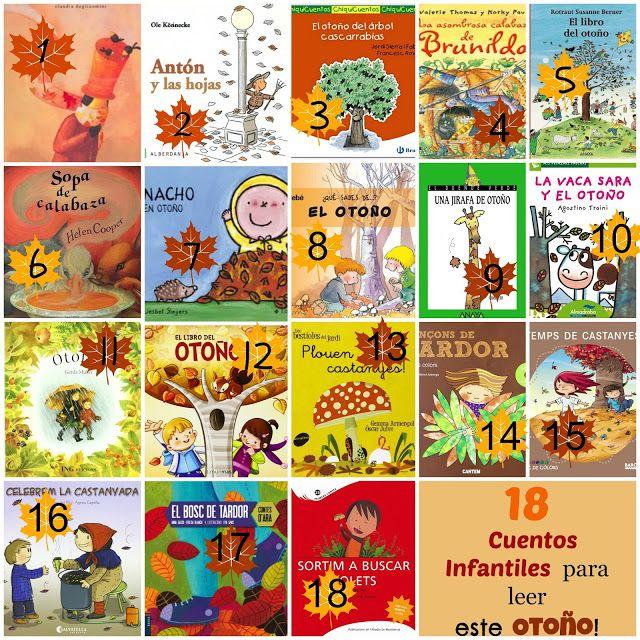 ¡18 cuentos infantiles para leer este Otoño! -CatacricatacraC Cuentos Infantiles