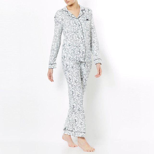Pyjama grand-père, femme