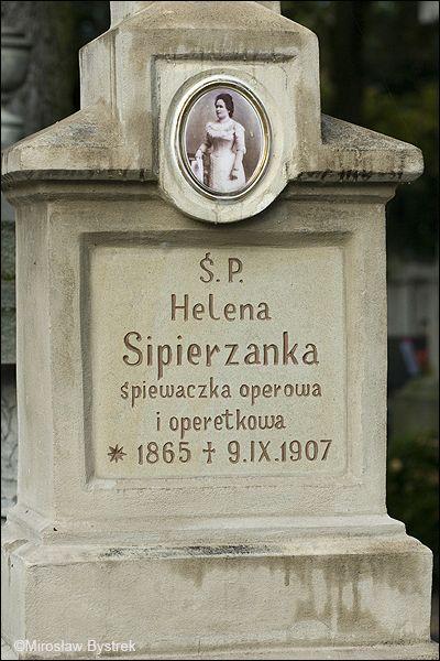 nagrobek Heleny Sipierzanki