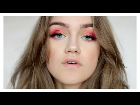 FORÅRS MAKEUP LOOK | Astrid Olsen - YouTube