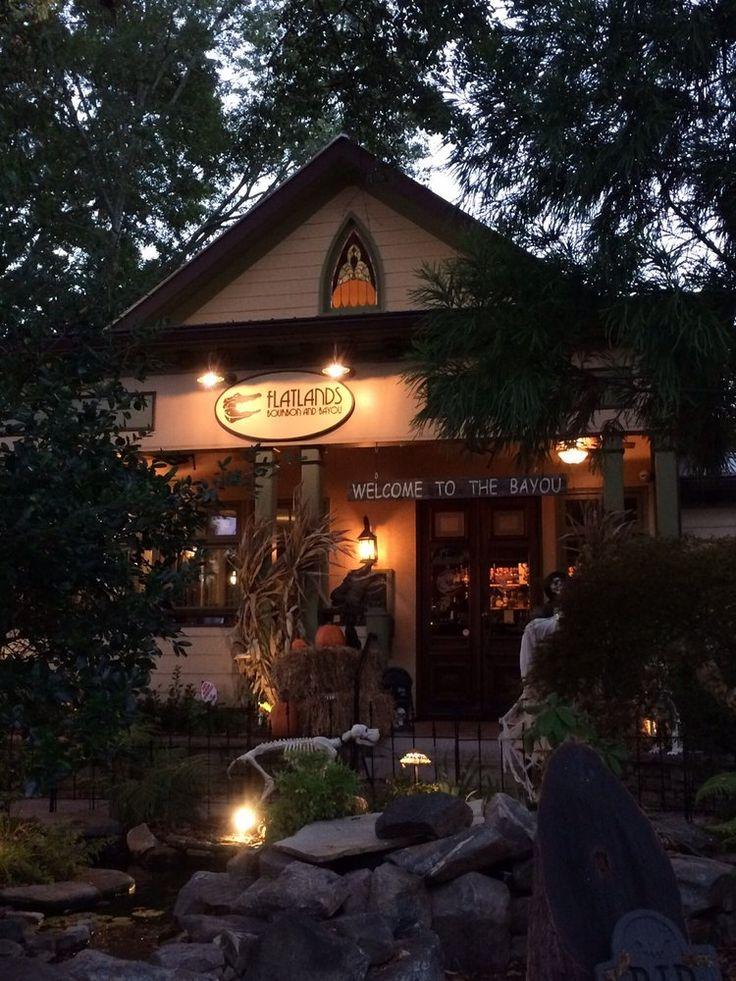 Flatlands Bourbon And Bayou restaurant in Alpharetta, Georgia: one of the highest-rated here; 4.5 stars on Yelp