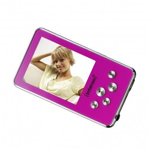 Intenso Video Driver Lecteur MP3/vidéo 4 Go Écran 5,1 cm (2″) Rose | Your #1 Source for Mobile Phones, MP3 Players & Accessories