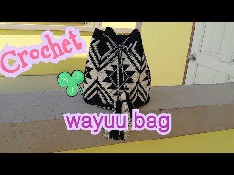 กระเป๋าวายู||สอนถักกระเป๋าวายู || wayuu bag|| Malee DIY part1 - YouTube