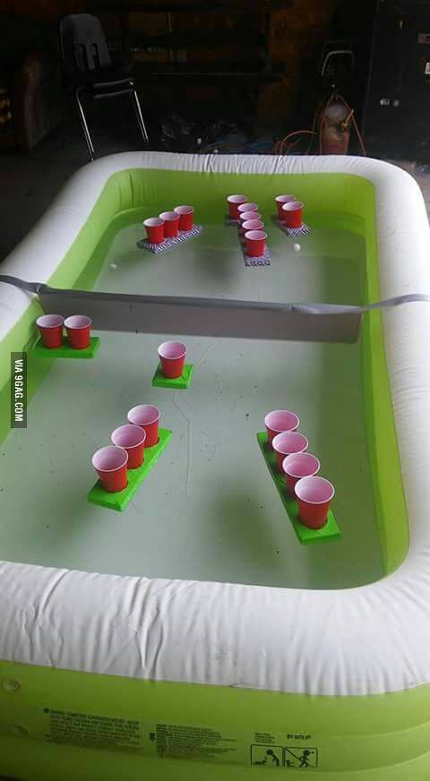Battleship beer pong - 9GAG
