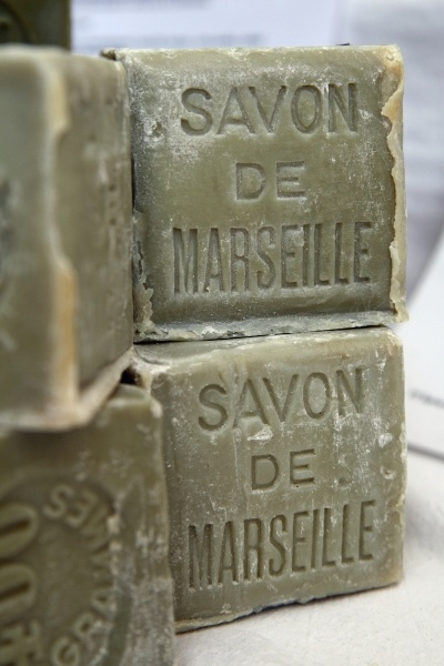 Genuine Marseille cube soaps. Yes!