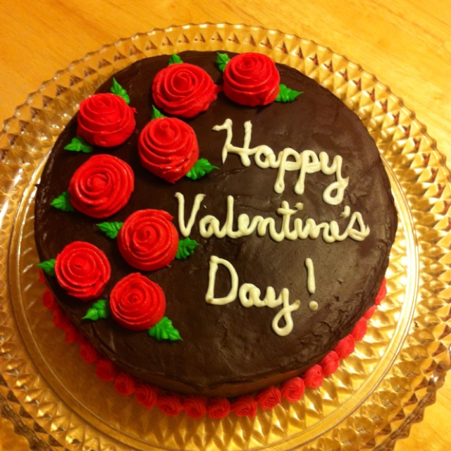 Valentine S Day Chocolate Cake Images : Valentine s Day Chocolate Cake Valentines day sweet ...