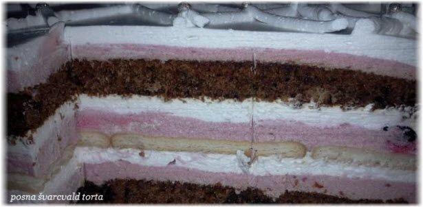 posna svarcvald torta sa visnjama recept