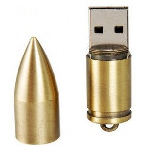 Nabój pocisk amunicja broń pamięć pendrive 16GB