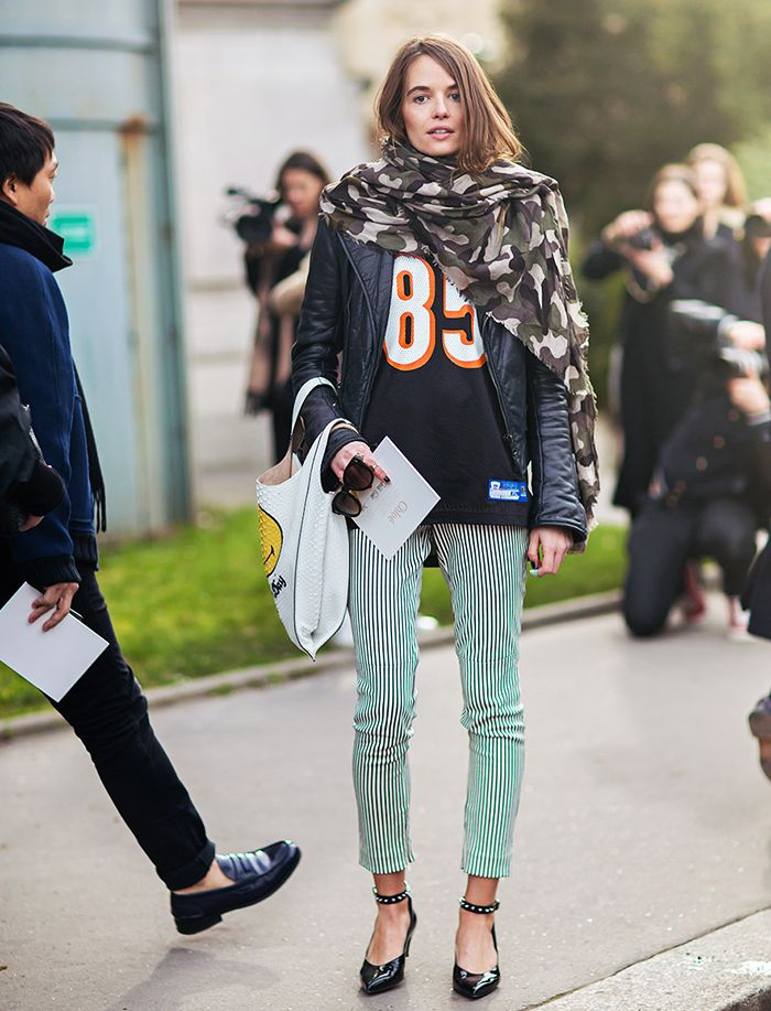 The Coolest Way to Wear Your Scarf (With Step-By-Step Instructions) via @WhoWhatWearUK