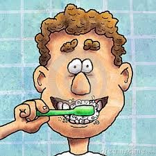 Resultado de imagen para daily routines brush my teeth