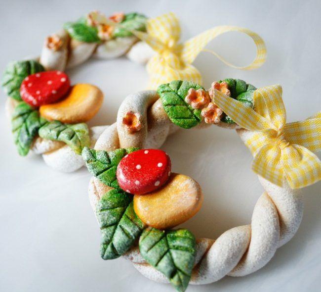 Best 25 osterkranz ideas on pinterest for Deko ostern