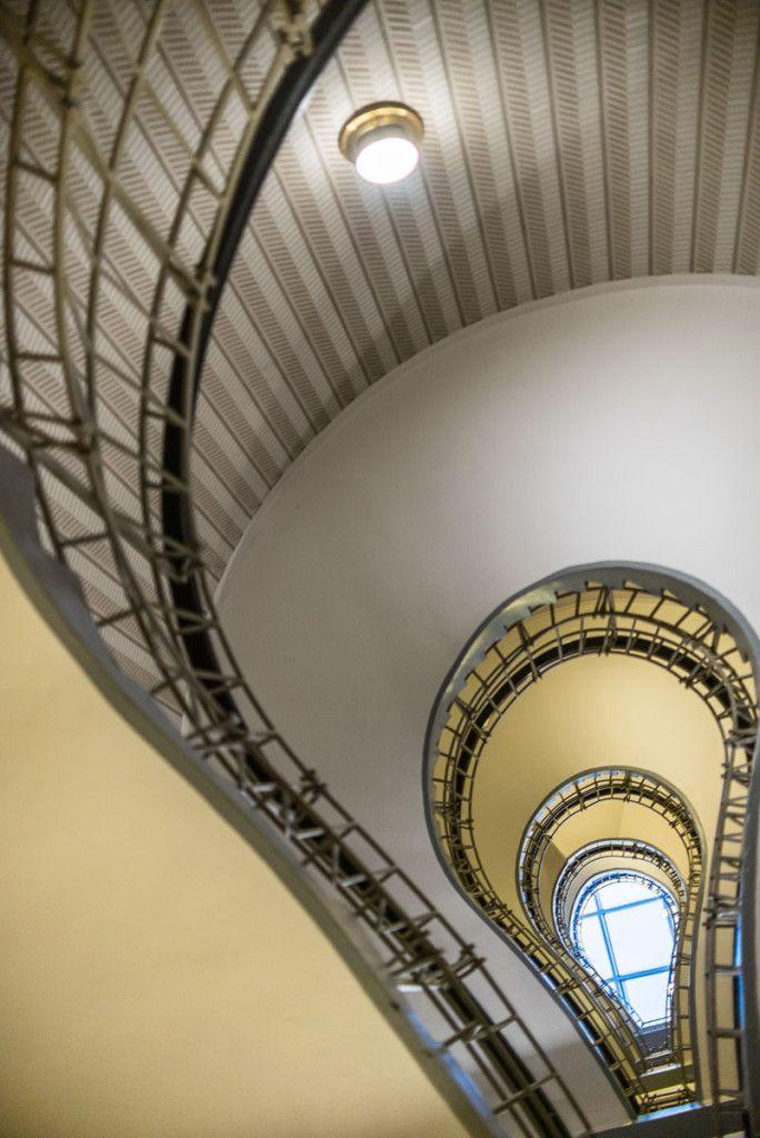 Praha, Dům Černé Matky Boží, schodiště