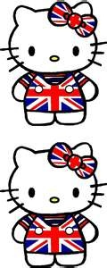 Union Jack Hello Kitty!